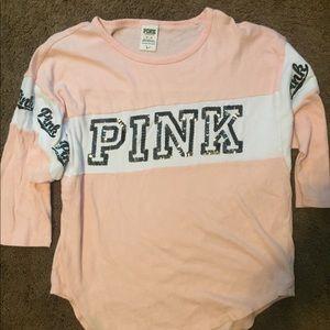 PINK 3/4 Light Sweatshirt